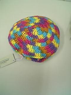 コンパクトになるネット編みのエコバック