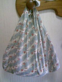 あづま袋を作ってみたよ